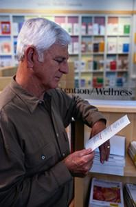 Reading Medical Pamphlet
